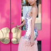 pink panther dress didomenico design custom made dress washington dc