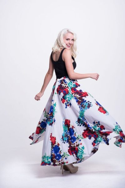 didomenico design abstract aurora floral maxi 2