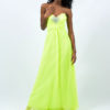 lime green prom dress didomenico design
