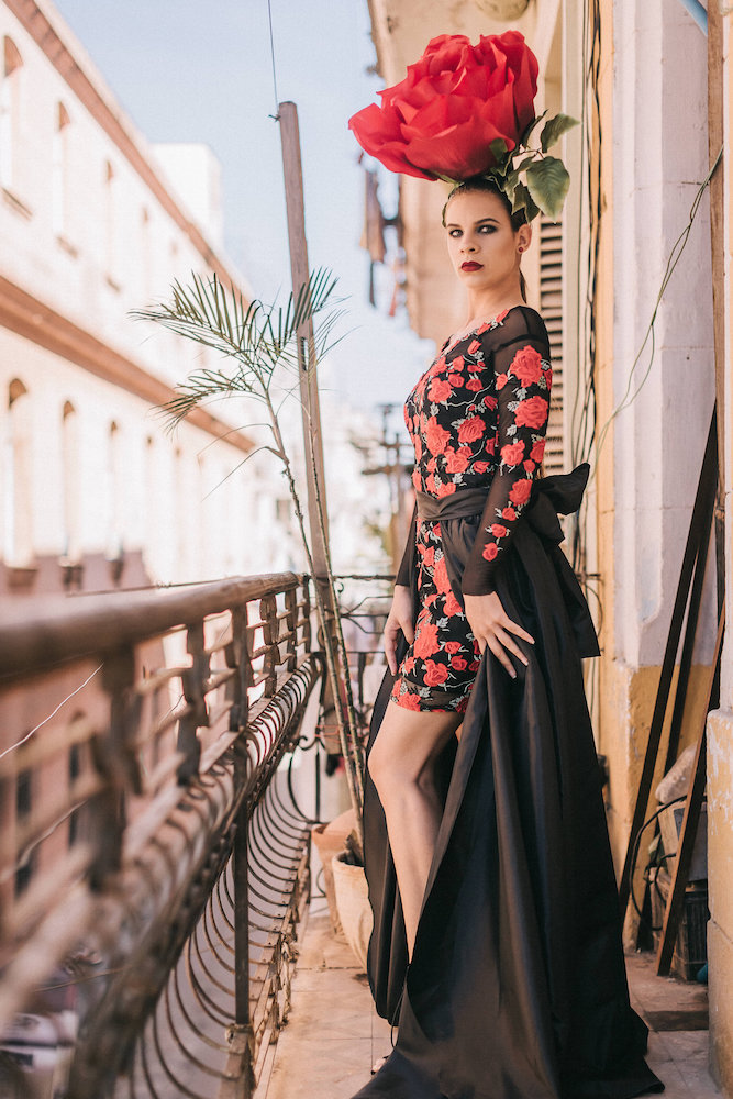 Red Rose Gown - DiDomenico Design